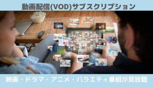動画配信(VOD)サブスクリプション|映画・ドラマ・アニメが見放題